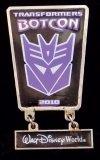 Botcon 2010 Cloisonne Enameled Transformers Pin
