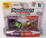 Kobushi Vs Landslide Cybertron Minicon Transformers 2 Figure Set