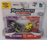Scattorbrain Vs Monocle Cybertron Minicon Transformers 2 Figure Set