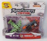 Sky Lynx Vs Thunderblast Cybertron Minicon Transformers 2 Figure Set