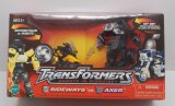 Axer & Sideways Transformers Robots In Disguise Walmart Exclusive Laser Cycle 2 Pack