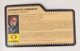 2008 Headhunter Gristle G.I. Joe Convention Exclusive FileCard