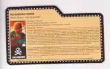 Red Shadows Red Torch G.I. Joe Convention Exclusive FileCard