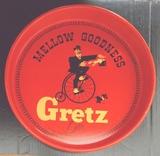 Gretz Beer Metal Advertising Tray