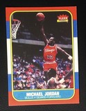 1986 Fleer Premier Michael Jordan Rookie Card Reprint