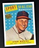 Topps Archives '58 All Star Stan Musial Baseball Card