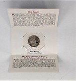 Elvis Presley $5 Commemorative Coin