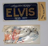 Lot of 2 Collectible Elvis Presley License Plates