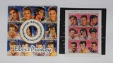A Collection of Genuine Elvis Postage Stamps in Commemorative 45 Album Sleeve