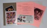 Columbian Exhibition Chicago 1992 Commerative Elvis Presley Stamps.
