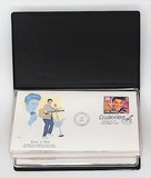 Lot of 5 Elvis Presley Commerative Stamp First-Day Covers on Collectible Envelopes