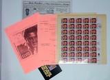 1993 Elvis Presley  Commerative Stamp Sheet