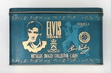 Elvis Gold Metallic Images Collector Cards Series 1 Collectible Tin