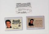 Elvis Presley Driver's License & ID Lot