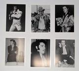 Elvis Black & White Photo Lot