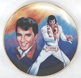 Elvis Presley Collectible Plate