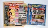 Older Elvis Cover Story Magazine & Ephemera Lot