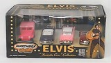 Matchbox Collectibles Elvis Favorite Cars Collection 1/64 Scale 4 Diecast Car Set