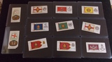 Lot of Flag Themed Tobacco Cards