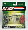 Gung Ho Vs Wild Weasel G.I. Joe Valor Vs Venom 2 Figure Set