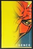 Convergence: Flash #2B (Variant Cover - Chip Kidd w/ Carmine Infantino)