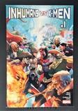 Inhumans vs. X-Men #1A (Regular Leinil Francis Yu Cover)