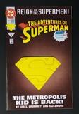 The Adventures of Superman #501B (Die-Cut Cover)