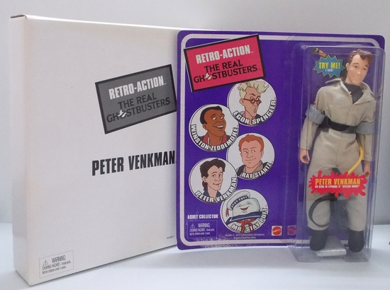 Ghostbuster Retro-Action Talking Mego-Style Peter