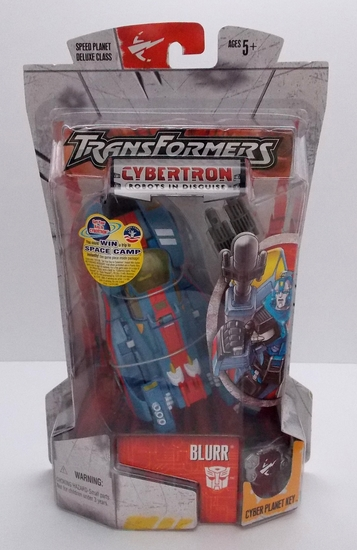 Blurr Cybertron Deluxe Class Transformers Action Figure
