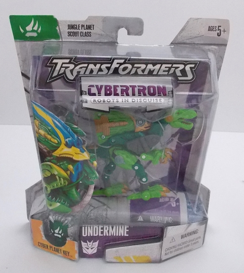 Undermine Cybertron Scout Class Transformers Action Figure