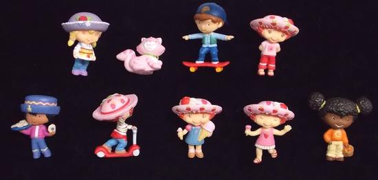 Strawberry Shortcake Lot of Miniature Figurines