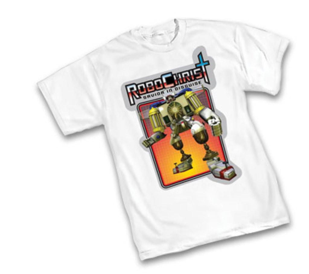 Clerks II Robo-Christ T-Shirt Size XL