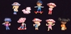 Strawberry Shortcake Lot of Miniature Figurines