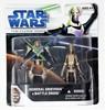 The Clone Wars General Grievous & Battle Droid Star Wars Action Figure Set