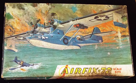 Airfix - 1/72 Scale Constant Scale Catalina Plane Model Kit