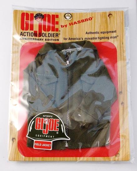 GI Joe 40th Anniversary Field Jacket Carded 1/6 Scale Action Figure Accessory Set