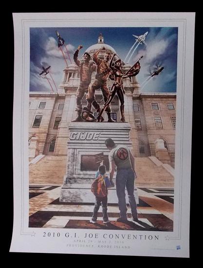 2010 G.I. Joe Convention Limited Edition Print