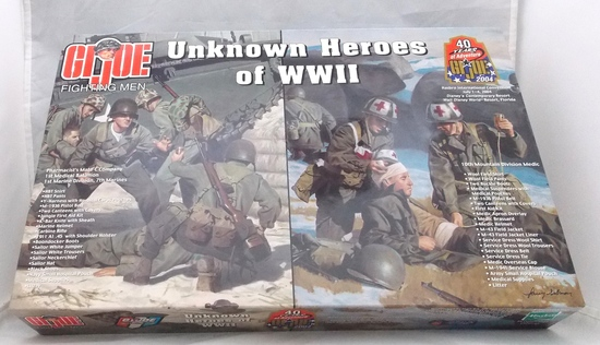 Unknown Heroes 2004  GI Joe Convention Exclusive Collectible Display Box