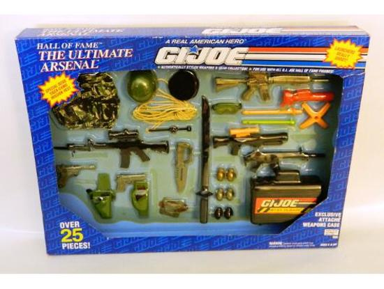 G.I. Joe Ultimate Arsenal Hall of Fame Mission Gear 1/6 Scale Accessory Set
