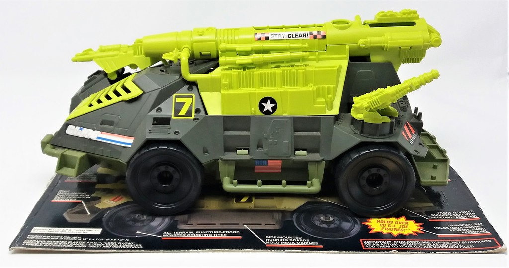 G.I. Joe 1993 Mega Marines Monster Blaster APC Vehicle