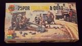 Airfix - 1/72 Scale 25 Pounder Field Gun & Quad