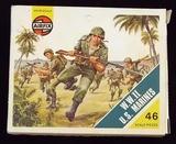 Airfix - HO/OO Scale U.S. Marines WWII Model Figures