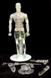 2002 Clear GI Joe Super-Articulated 1/6 Scale Membership Figure