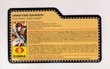 Crimson Strike Team Cobra Vipers G.I. Joe Convention Exclusive FileCard