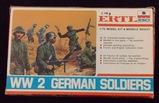 ERTL ESCI - 1/72 Scale WW2 German Soldiers