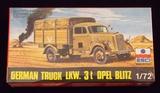 ESCI 1/72 Scale German Truck LKW. 3t Opel Blitz