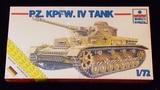 ESCI ERTL - 1/72 Scale German Panzer Tank KPFW IV Military Vehicle