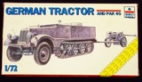 ESCI ERTL - 1/72 Scale German Tractor Half-Track and Pak 40 Military Vehicle