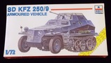 ESCI ERTL - 1/72 Scale SD. KFZ 250/9 Armoured Half-Track Military Vehicle