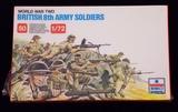 ESCI ERTL - 1/72 Scale World War Two British 8th Army Figure Set